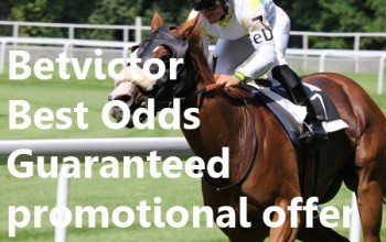 Betvictor Best Odds Guaranteed promotional offer